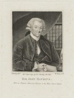 Sir John Hawkins, by R. Clamp, published by  E. & S. Harding, after  Silvester Harding, after  James Roberts, published 1 September 1794 - NPG D16218 - © National Portrait Gallery, London