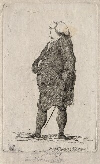 Fletcher Norton, 1st Baron Grantley, by James Sayers, published by  Charles Bretherton - NPG D16223
