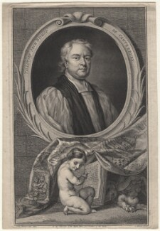 John Tillotson, by Jacobus Houbraken, published by  John & Paul Knapton, after  Sir Godfrey Kneller, Bt - NPG D16229