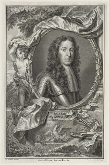 King William III, by Pierre or Peter Tanje, after  Willem Wissing - NPG D18841