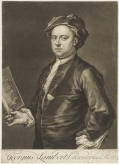 George Lambert, by John Faber Jr, after  John Vanderbank - NPG D18853
