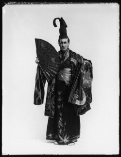 Leicester Tunks as the Mikado in 'The Mikado', by Bassano Ltd - NPG x80560