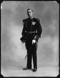 Leicester Tunks as Captain Corcoran in 'H.M.S. Pinafore', by Bassano Ltd - NPG x80561