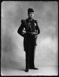 Leicester Tunks as Captain Corcoran in 'H.M.S. Pinafore', by Bassano Ltd - NPG x80562