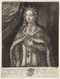 Elizabeth Woodville, by John Faber Sr, circa 1700-1725 - NPG D18869 - © National Portrait Gallery, London