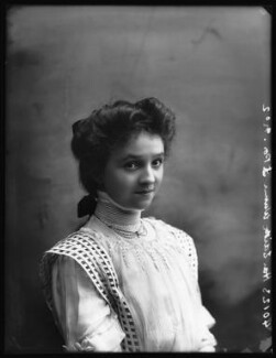 Hon. Edith Victoria Blanche Westmacott (née Winn), by Bassano Ltd - NPG x102383