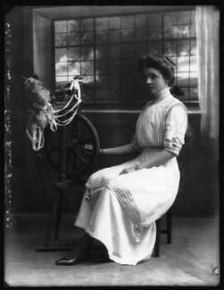 Hon. Edith Victoria Blanche Westmacott (née Winn), by Bassano Ltd - NPG x102384