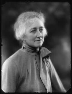 Lucy Ellen (née Crookes), Lady Kimber, by Bassano Ltd - NPG x124129