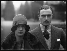 Hon. Ismay Hilda Margaret Sale (née Fitzroy); Walter Morley Sale, by Bassano Ltd - NPG x124138