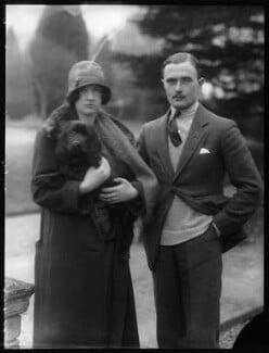 Hon. Ismay Hilda Margaret Sale (née Fitzroy); Walter Morley Sale, by Bassano Ltd - NPG x124139