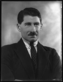 Hon. Michael Claude Hamilton Bowes-Lyon, by Bassano Ltd - NPG x124144
