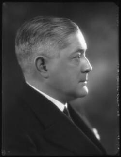 Sir Robert Vaughan Gower, by Bassano Ltd - NPG x124148