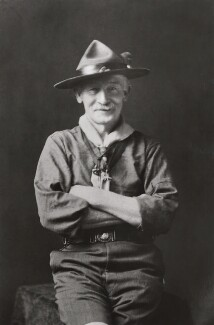 Robert Baden-Powell, by Walter Stoneman, 1927 - NPG x358 - © National Portrait Gallery, London