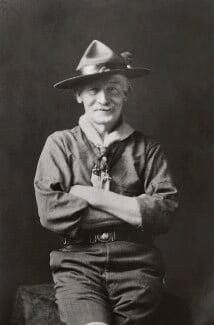 Robert Baden-Powell, by Walter Stoneman, 1927 - NPG x358 - © National Portrait Gallery, London
