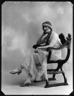 Josephine Ellis, by Bassano Ltd - NPG x80610