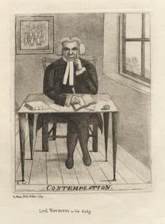 Contemplation (James Burnett, Lord Monboddo), by John Kay - NPG D16263