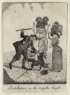 Retaliation; or the Cudgeller Caught, by John Kay - NPG D16235