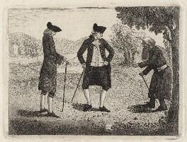 Hon. Basil Cochrane; James Edgar; a beggar, by John Kay, 1784 - NPG D16273 - © National Portrait Gallery, London