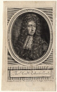 Robert Boyle, by Robert White, after  Johann Kerseboom - NPG D16244
