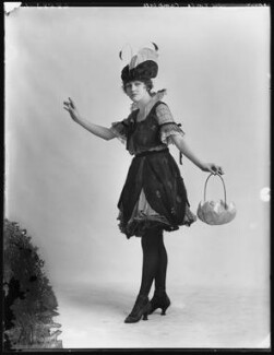 Rosie Campbell as The Lady Bird in 'Vanity Fair', by Bassano Ltd - NPG x102448