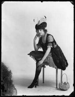 Rosie Campbell as The Lady Bird in 'Vanity Fair', by Bassano Ltd - NPG x102449