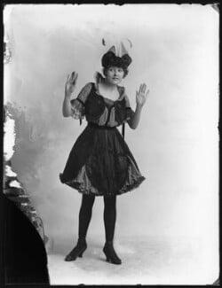 Rosie Campbell as The Lady Bird in 'Vanity Fair', by Bassano Ltd - NPG x102450