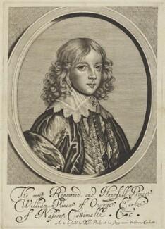 William II of Orange-Nassau, by William Faithorne, published by  Sir Robert Peake - NPG D18884