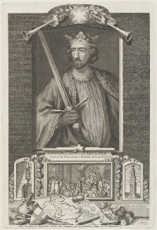 King Edward I, by George Vertue - NPG D18890