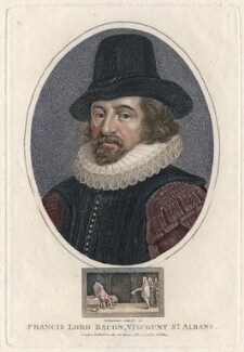 Francis Bacon, 1st Viscount St Alban, by John Chapman, published by  John Wilkes - NPG D16254