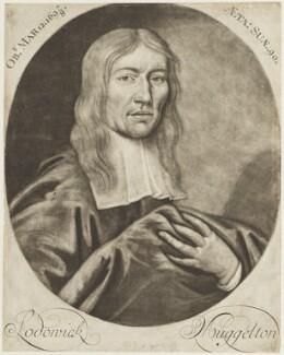 Lodowicke Muggleton, after William Wood - NPG D18894
