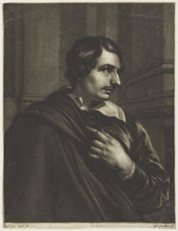 Sir Anthony van Dyck, by Wallerant Vaillant, after  Sir Anthony van Dyck - NPG D18899