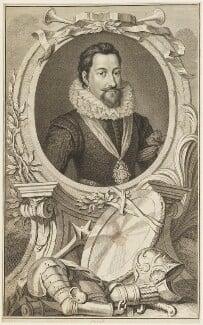 Robert Carr, Earl of Somerset, by Jacobus Houbraken, published 1749 - NPG D18900 - © National Portrait Gallery, London