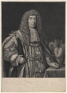 John Maitland, Duke of Lauderdale, by Gerard Valck - NPG D16279