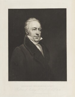 Joshua Brookes, by William Ward, published by  Martin Colnaghi, after  Bryan Edward Duppa - NPG D18909