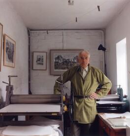 Edgar Holloway, by Bernard Mitchell - NPG x77054