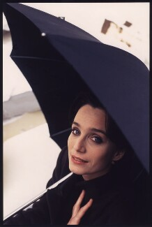 Kristin Scott Thomas, by Alistair Morrison - NPG x87237