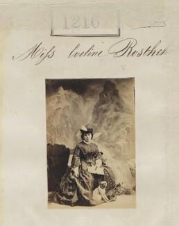 Evelina Gertrude de Rothschild, by Camille Silvy - NPG Ax50658