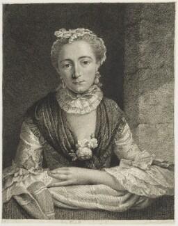 Miss Elliot, after Unknown artist, mid 18th century - NPG D18939 - © National Portrait Gallery, London