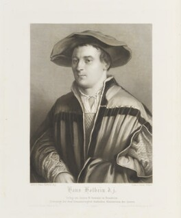 Hans Holbein the Younger, by Friedrich Weber, published by  Artaria & Fontaine, and published by  Paul and Dominic Colnaghi & Co, and published by  Goupil & Co, after  Hans Holbein the Younger, published circa 1810-1837 (1523-1524) - NPG D18947 - © National Portrait Gallery, London