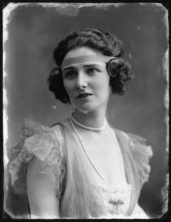 Mabel Sealby as Estelle (Head Model at Jotte's) in 'Betty', by Bassano Ltd - NPG x80699