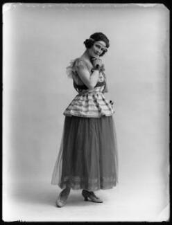 Mabel Sealby as Estelle (Head Model at Jotte's) in 'Betty', by Bassano Ltd - NPG x80700