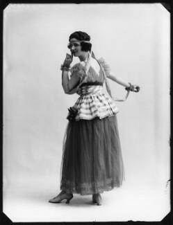 Mabel Sealby as Estelle (Head Model at Jotte's) in 'Betty', by Bassano Ltd - NPG x80701