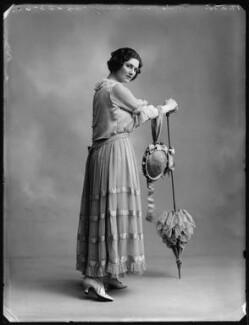 Mabel Sealby as Estelle (Head Model at Jotte's) in 'Betty', by Bassano Ltd - NPG x80702