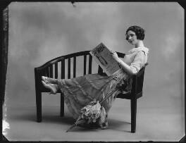 Mabel Sealby as Estelle (Head Model at Jotte's) in 'Betty', by Bassano Ltd - NPG x80703