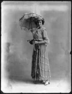 Mabel Sealby as Estelle (Head Model at Jotte's) in 'Betty', by Bassano Ltd - NPG x80704