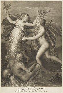 'Loves of the Gods': Apollo and Daphne, by John Smith, after  Titian - NPG D18964