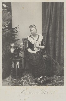 Constance Flower (née de Rothschild), Lady Battersea, by Cyril Flower, 1st Baron Battersea - NPG Ax15601