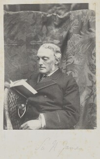 Henry James, 1st Baron James of Hereford, by Cyril Flower, 1st Baron Battersea - NPG Ax15678