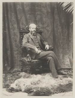 Ferdinand James Anselm de Rothschild, Baron de Rothschild, by Cyril Flower, 1st Baron Battersea, early 1890s - NPG Ax15704 - © National Portrait Gallery, London