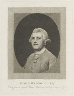 Josiah Wedgwood, by and published by George Townley Stubbs, after  George Stubbs - NPG D18969